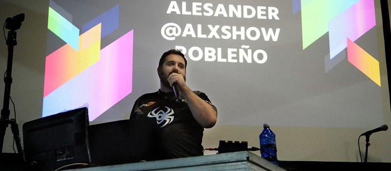 """Proposamen  interesgarri  bat  izango  dugu:  Alex  """"Alx""""  Robleño"""