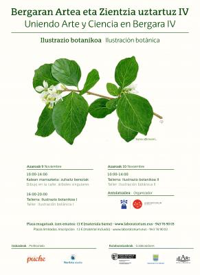 Ilustración botánica, Uniendo Arte y Ciencia en Bergara, IV edición