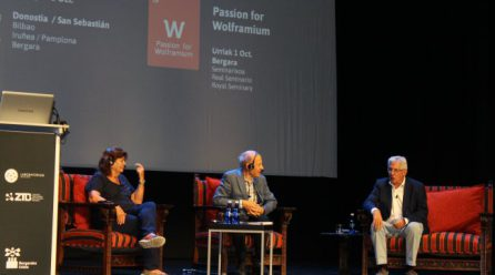 El Wolframio y Bergara protagonistas en el acto de cierre de las jornadas Passion for knowledge