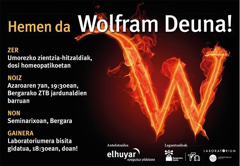 Wolfram  Deuna:  Umorezko  bakarrizketa  zientifikoak